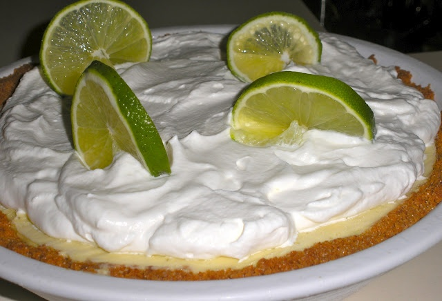 Frozen Key Lime Pie Recipe (D.M.R. Fine Foods)
