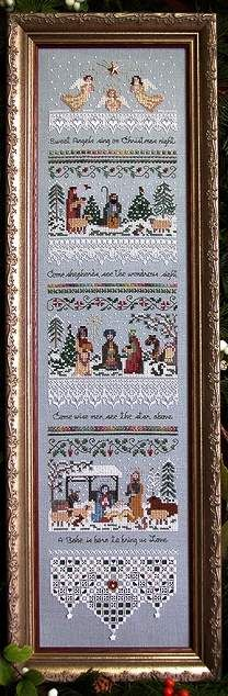 Heirloom Nativity Sampler - Victoria_Sampler Pattern