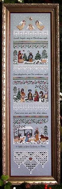 Heirloom Nativity Sampler by Victoria Sampler - Cross Stitch Kits & Patterns