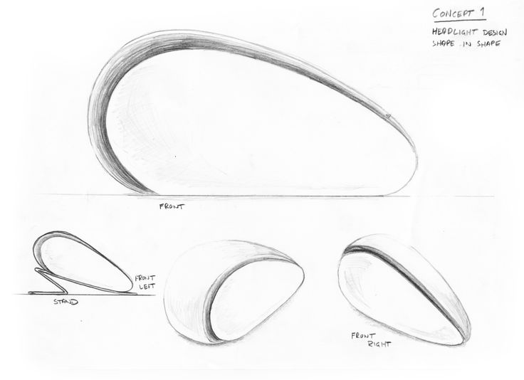 The story of the Aston Martin Zygote started to take shape with these initial sketches. We had a dream about a product combining great sound performance with a beautiful design and shape. The sculptural Aston Martin Zygote is the result of that dream - a luxurious wireless audio system for your home.