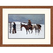 43 best alchemy images on pinterest occult art sacred geometry western the fall of the cowboy by frederic remington framed painting print fandeluxe Gallery
