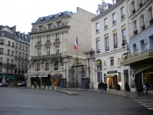 Elysée Lounge… 3 rue des Saussaies, 75008 Paris… à deux pas de la place Beauvau et du Palais de l'Elysée !