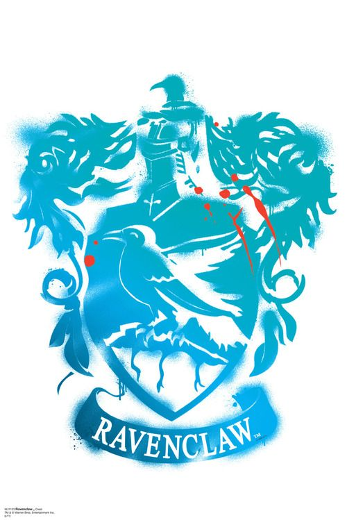 Ravenclaw Crest WallJammer - Harry Potter