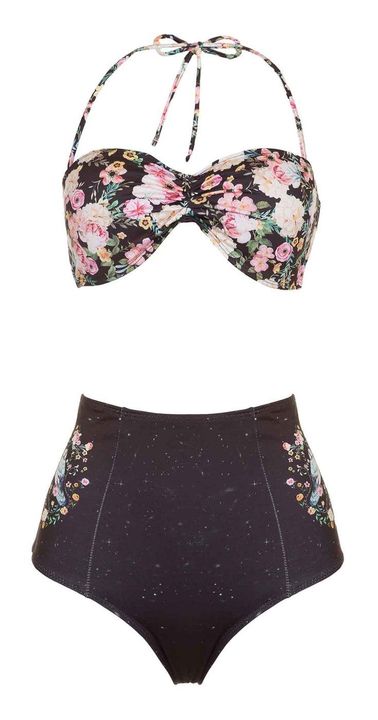 Só na Antix Store você encontra Biquíni Hot Pant Pássaro Floral com exclusividade na internet
