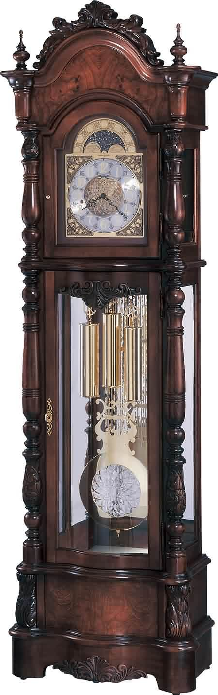Howard Miller Veronica 611-015 Victorian Grandfather Clock