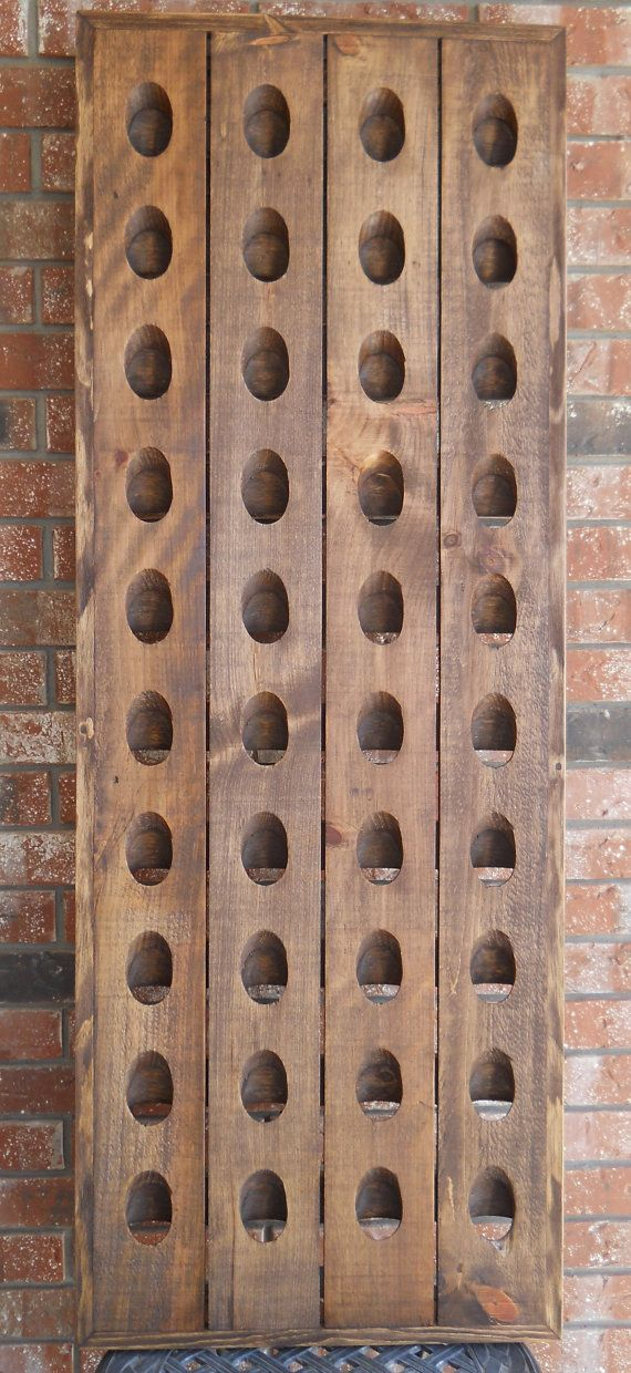 40 bottle wine rack french riddling rack by