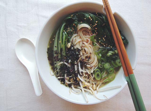 Recept: Wannabe Miso Ramen