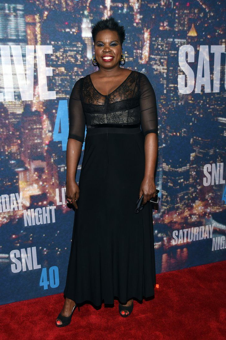 Pin for Later: Anyone Who's Anyone Was at the SNL 40th Anniversary Celebration Leslie Jones