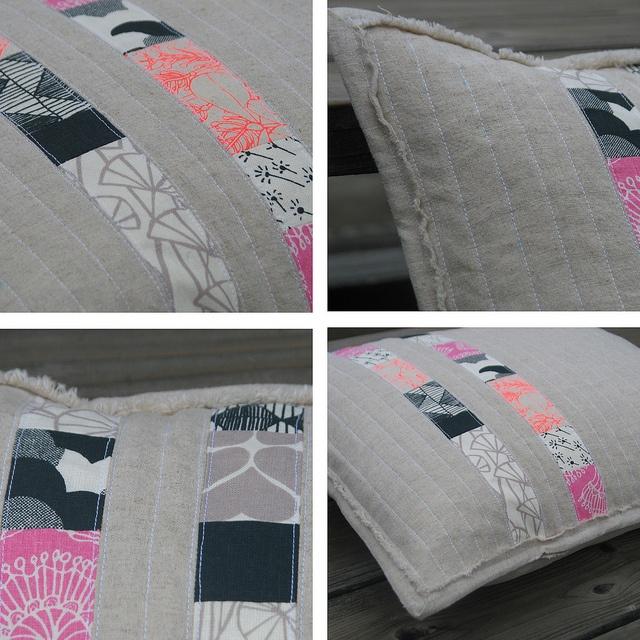 Gorgeous cushion by Erin Daniels from Umbrella Prints Trimmings 2012.  http://www.umbrellaprints.blogspot.com.au/