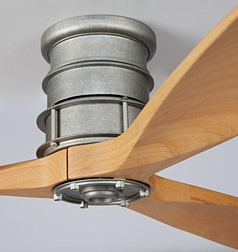 Falcon Semi-Flush Ceiling Fan | Rejuvenation