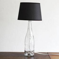Martin Margiela inspired bottle lamp DIY.  http://lanared.blogspot.nl/2012/08/bottle-lamp-diy.html