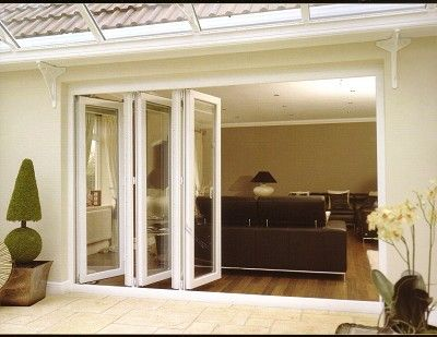 These bi-fold glass doors are so popular these days, but are the practical for the midwestern buggy summers?