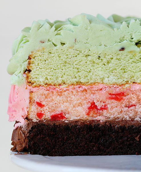 am baker spumoni cake spumoni pistachio cherry almond and chocolate ...