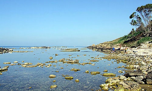 """Menfi: the """"solette"""" beach of Porto Palo, the cleanest sea in Sicily"""