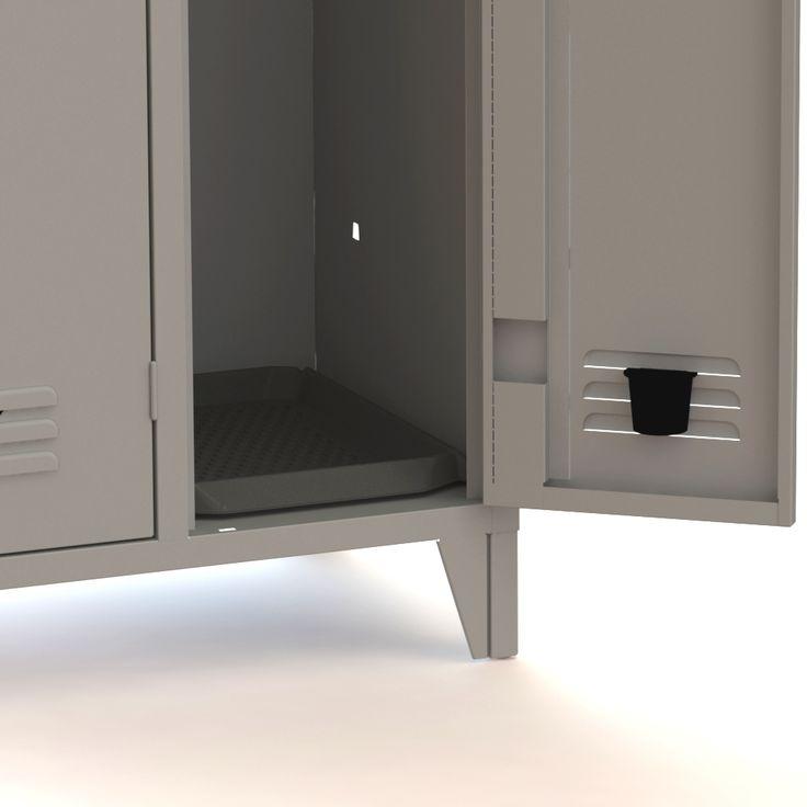 ... Mobili da cucina in metallo, Mobili rustici da cucina e Pareti di