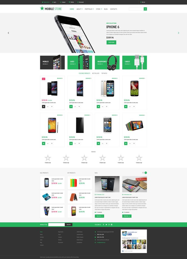 25 best WooCommerce Themes images on Pinterest Website template - service plan template