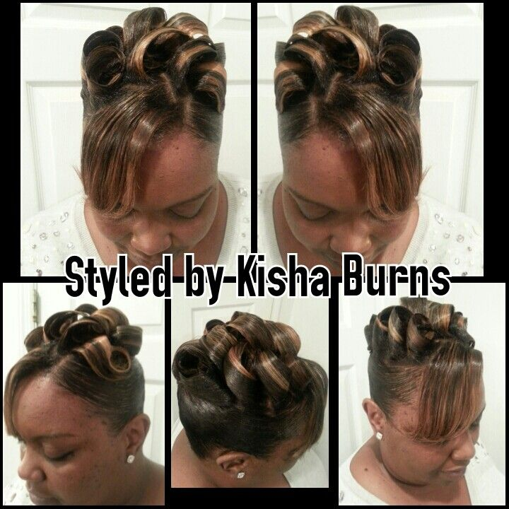 SCULPTED UP DO with no frenchroll | UPDOs and PIN UPS
