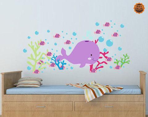 Best Ocean Nursery Images On Pinterest Ocean Nursery Nursery - Nursery wall decals calgary