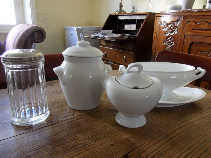 A few of my bargains today, and some of the pottery is Limoges!