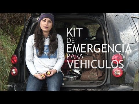 Equipo de emergencias para el coche: Kit de supervivencia en autos o vehículos Car Survival Kit
