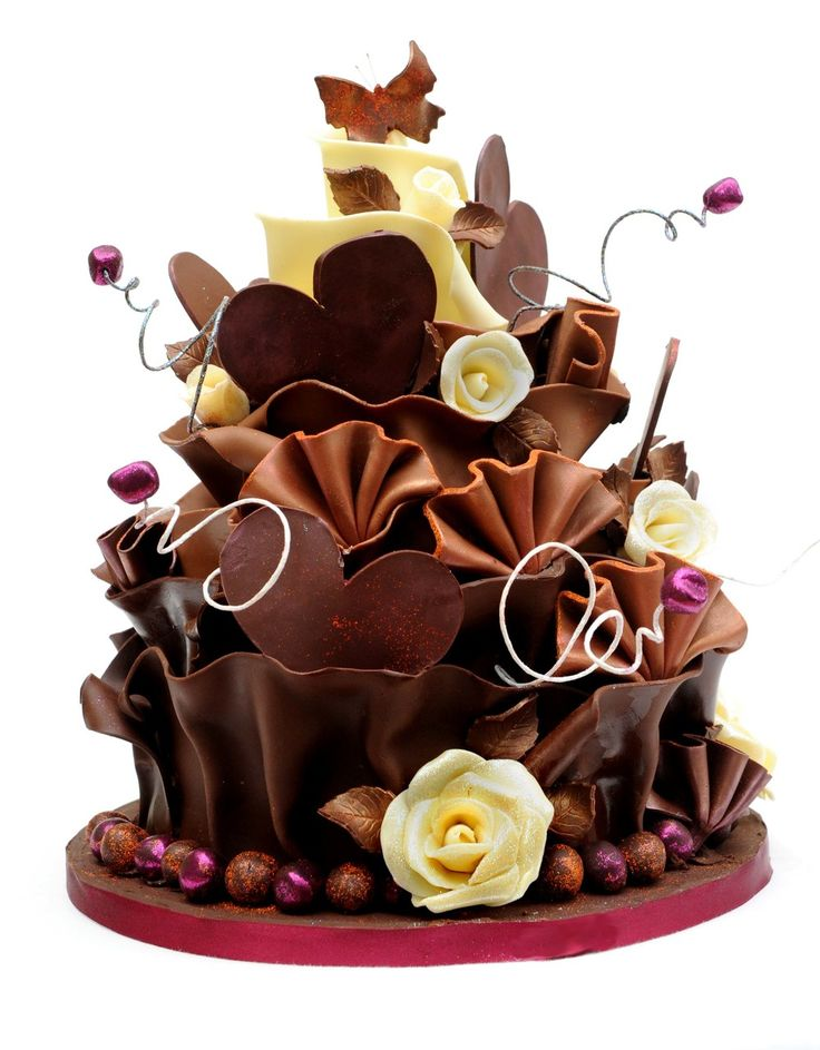 Most Beautiful Chocolate Birthday Cakes Ever Most