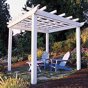 How to Make a Garden Trellis or Arbor
