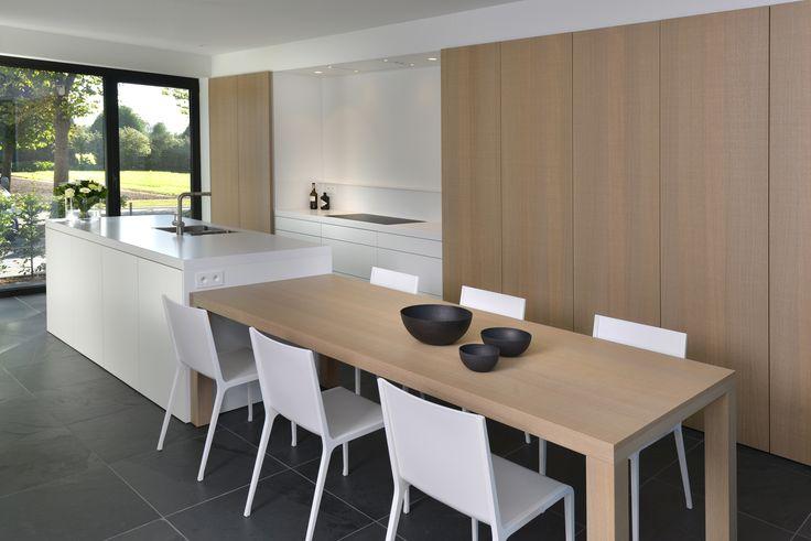 769 beste afbeeldingen over kitchen op pinterest moderne keukens eilanden en keuken interieur - Tafel centraal eiland ...