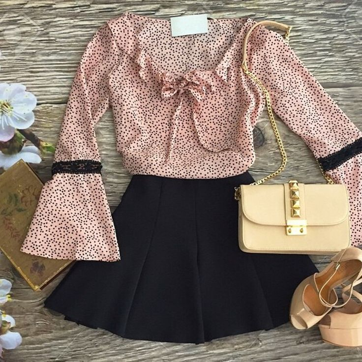 Barato 2015 moda primavera outono de manga comprida blusa rosa de bolinhas camisa Plus Size Tops Blusas Femininas, Compro Qualidade Blusas diretamente de fornecedores da China:               Você também pode gostar destes