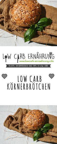 Low Carb Rezept für leckere, kohlenhydratarme Low Carb Brötchen. Low Carb und einfach und schnell zum Nachbacken. Perfekt zum Abnehmen.