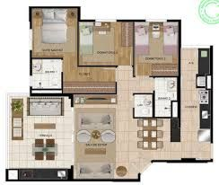 Résultats de recherche d'images pour «apartamento 100m2»