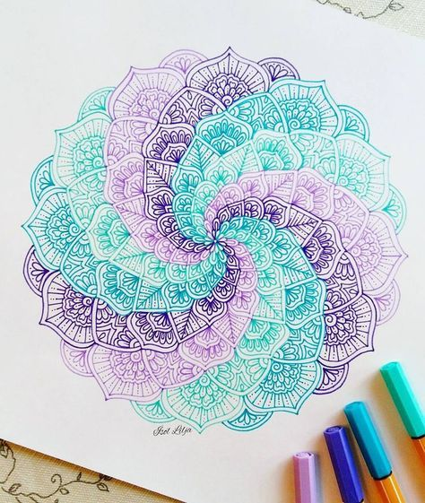 Image Result For Simple Mandala Drawing Tumblr Sketching