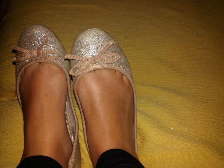 Le scarpe più luccicanti che ho😍