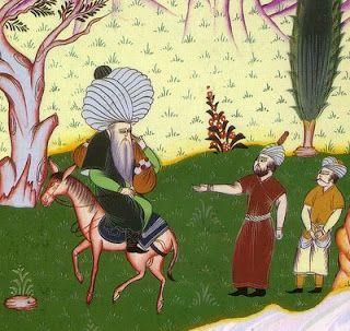 El Bloc dels Viatges amb destinació a... Samarcanda: El Mul·là Nasreddin i la dona del mestre del poble