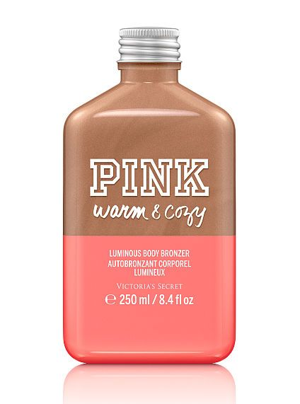 pink luminous body bronzer, warm & cozy $18.00 ☆ toasted vanilla peony ☆ victoria's secret