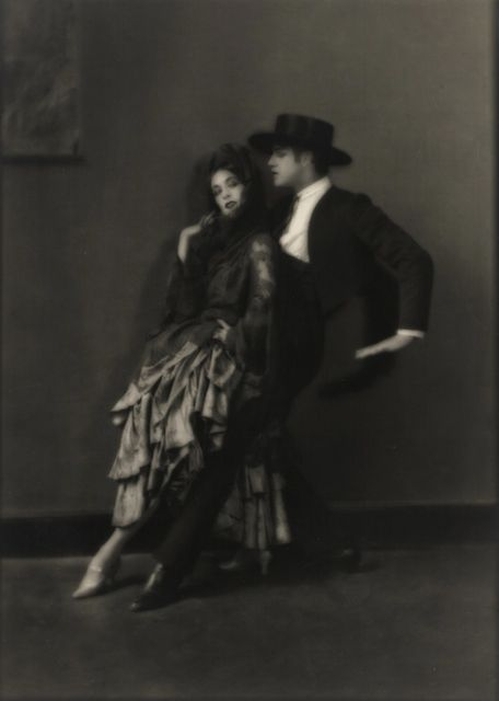 Martha Graham and Ted Shawn, 1922 -by E. O. Hoppé