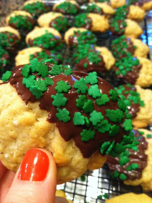 CHOCOLATE DIPPED POTATO CHIP COOKIES @Matty Chuah Salted Cookie The ...