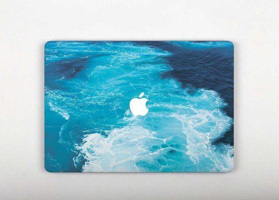 Ocean Wave Laptop Cover Mac Pro Retina 13 Skin MacBook Pro 15 2016 Touch Bar Decal Wave Air 11 MacBo