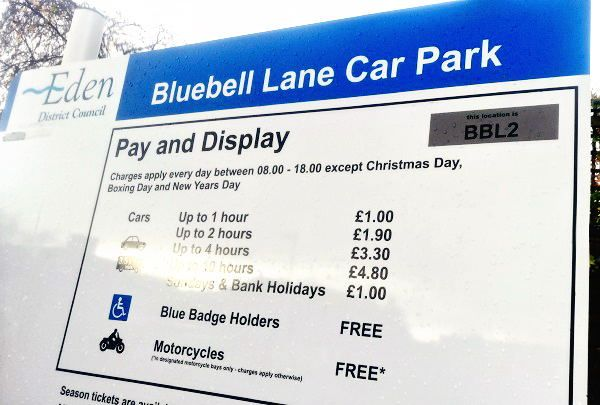 Easy way to pay for your long stay in Eden http://www.cumbriacrack.com/wp-content/uploads/2017/11/blue-bell-lane-car-park.jpg Booking a long stay parking space for your car when visiting Penrith has just become a whole lot easier thanks to a new online service offered through Eden District Council's website    http://www.cumbriacrack.com/2017/11/23/easy-way-pay-long-stay-eden/