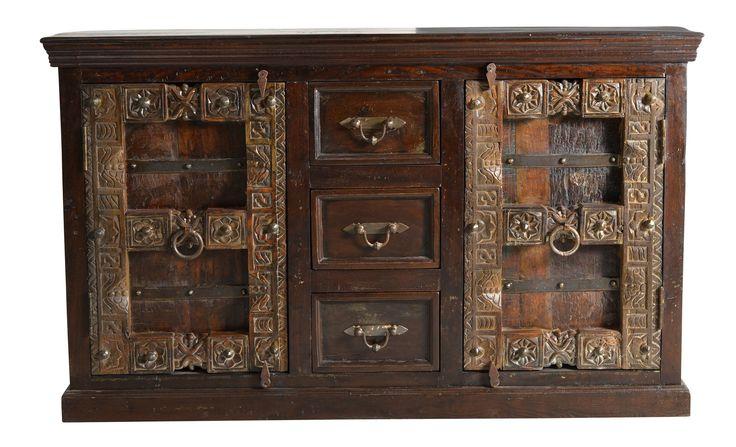 Sideboard Recyceltes Holz Massiv Woody 11-01317 Braun Landhaus Jetzt bestellen unter: https://moebel.ladendirekt.de/wohnzimmer/schraenke/sideboards/?uid=9a3b88ce-7e0d-51f0-b4dd-e575d0fc1d1c&utm_source=pinterest&utm_medium=pin&utm_campaign=boards #schraenke #wohnzimmer #sideboards