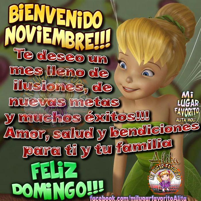 Bienvenido Noviembre!!!