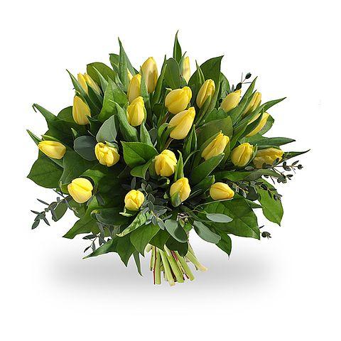 Gele tulpen van Boeketten.nl