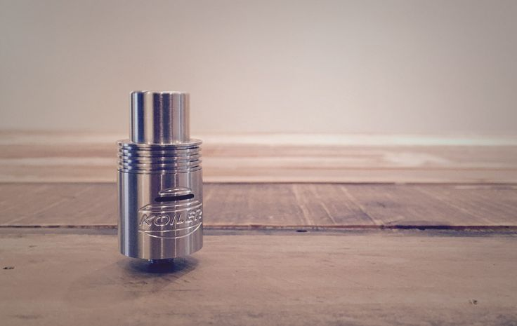 We are so stoked to see local companies producing RDAs! It's so awesome for our community. First there was the Hazematic Revolt and now there is the Koiler AFC RDA both manufactured right here in Toronto! The Koiler AFC is definitely for the Cloudchasers out there, this puppy sure chucks the clouds!