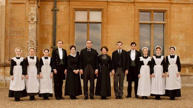 """Scene from the PBS television series """"Downton Abbey"""""""