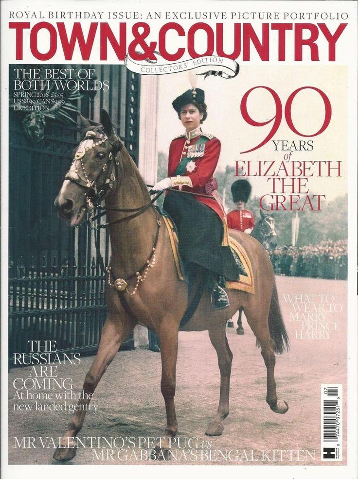 Town and Country magazine Queen Elizabeth Lucrezia Buccellati Hawksmoor estate