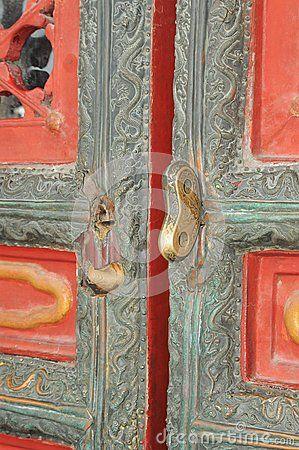 Curiosity open the doors; a very ancient and elegant door