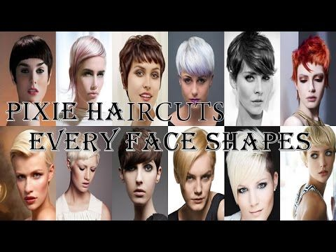 Pixie Haircuts For Every Face Shapes for Girls and Women