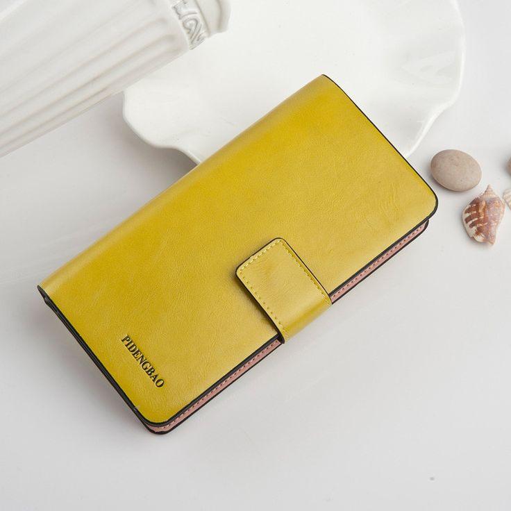 Hot Sales Female Wallets Zipper dollar price Leather wallet Men/Women Wallets/clutch