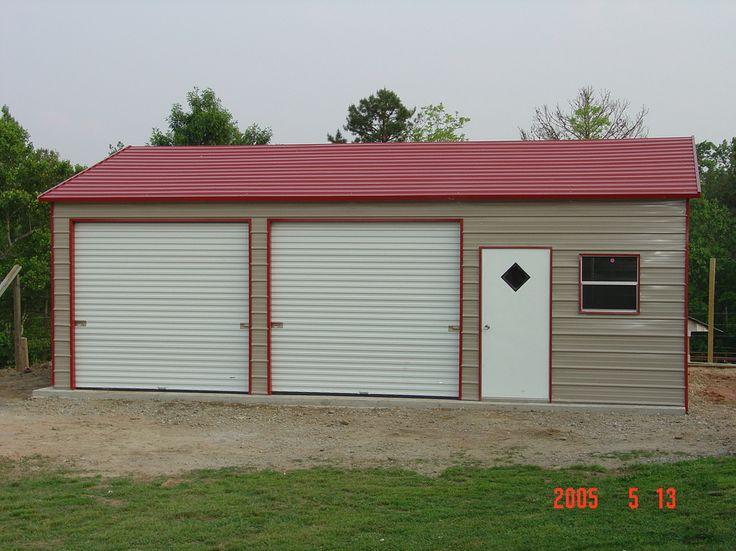 Steel Garages North Carolina NC Steel garage, Garage