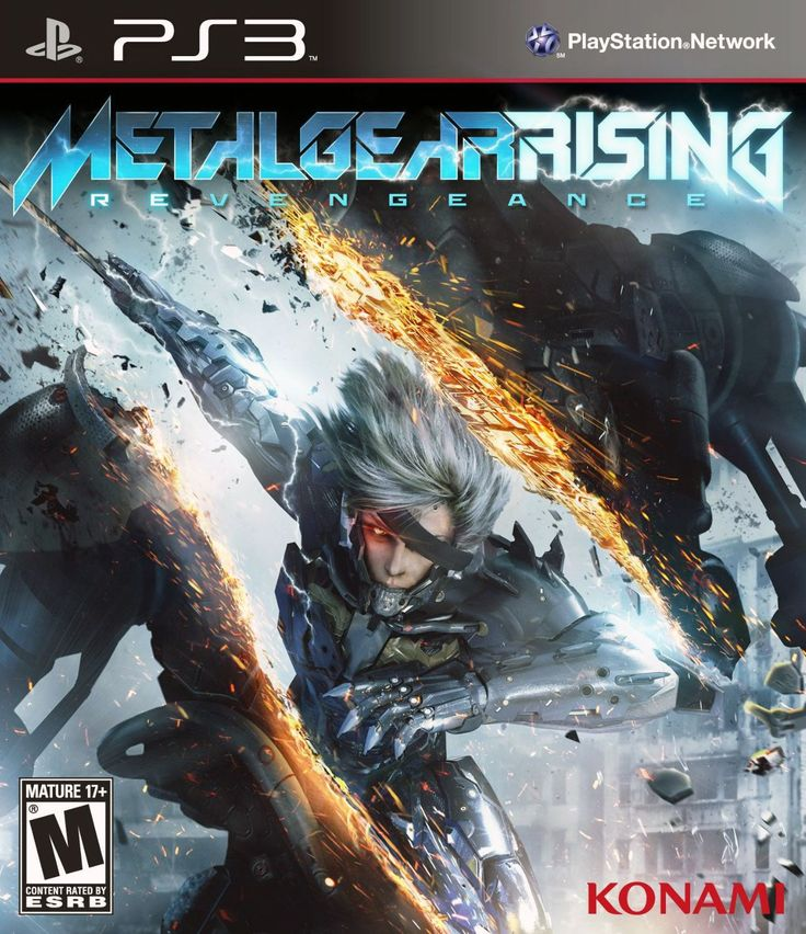 Metal Gear Rising: Revengeance (Sony PlayStation 3, 2013) Complete