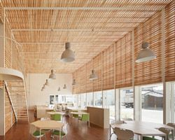 SUEP: office combines tradition + sustainability